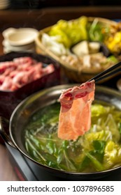 Delicious hot pot cooking