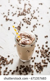 Delicious Iced Frappe Coffee