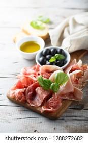 Delicious Italian appetizers