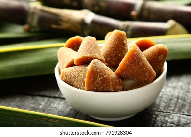 Delicious jaggery cookies  served in white bowl