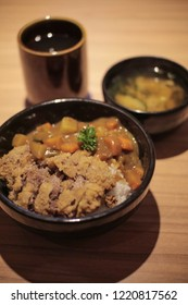 Delicious Japanese Beef Katsu Curry