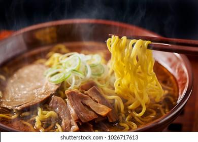 Delicious Japanese noodle dish ramen