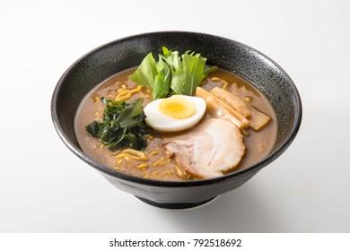 Delicious Japanese noodle dish. ramen
