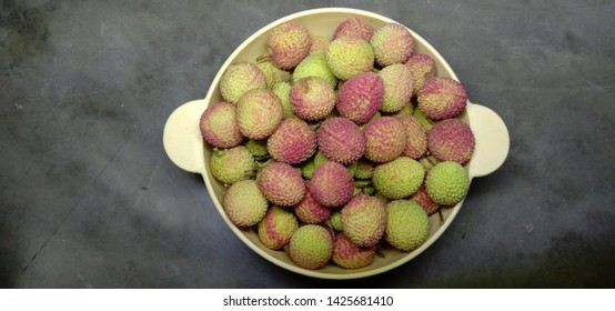 Delicious Litchy fruit Uttrakhand India