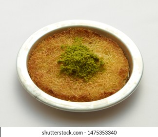 delicious luscious turkish pistachio kunefe