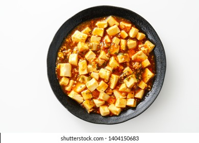 Delicious mapo tofu. Chinese food.