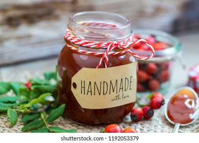 delicious Marmelade from rose hip