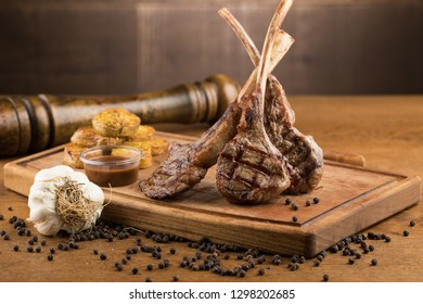 delicious meat on plate
