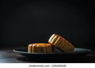Delicious moon cake for Mid Autumn Festival