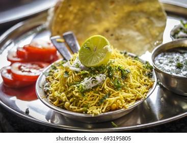 Delicious morning breakfast item of Maharashtra.