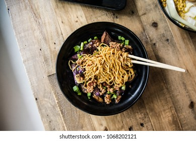 Delicious Noodles in a Bowl