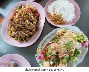 delicious northeast food of Thailand