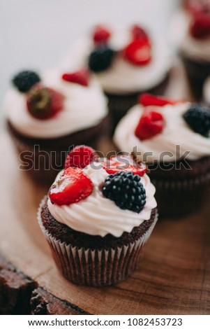 Delicious Party Muffins Aperitif Stock Photo Edit Now 1082453723