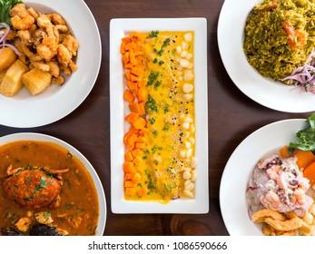 Delicious Peruvian Food