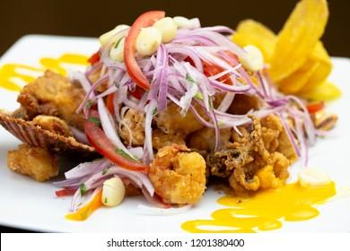 Delicious peruvian food: Jalea, LIma, Peru