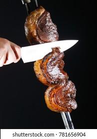 Delicious picanha, Brazilian beef