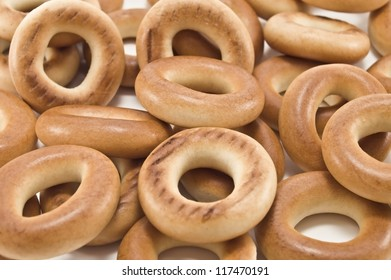 delicious pretzels in the photo