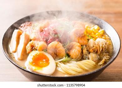 Delicious ramen in Japan