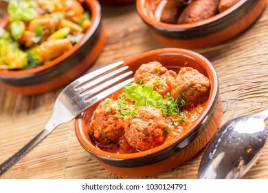 delicious rustic spanish mediterranean tapas starters finger food