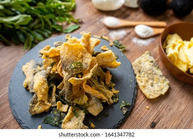 Delicious Salted Egg Fish Skin