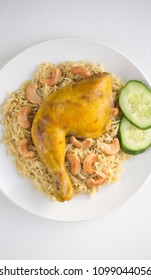 "Delicious Saudi Dish Named ""Kabsa"""
