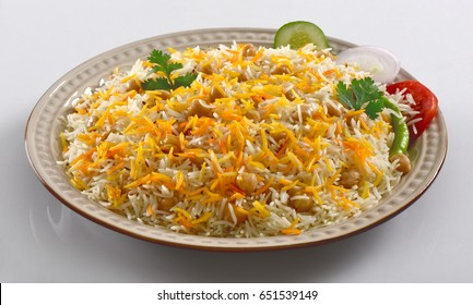 Delicious & Spicy Chana Pulao (Spicy Rice with Chickpeas)