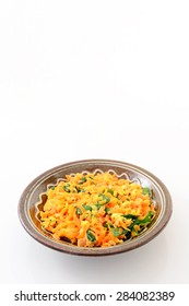Delicious stir-fried carrot