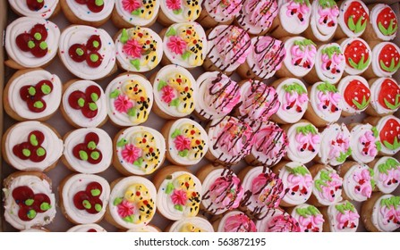 Delicious sweet cupcakes