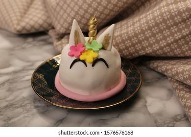 delicious sweet figure birthday cake