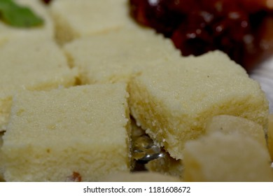 Delicious sweets close up macro