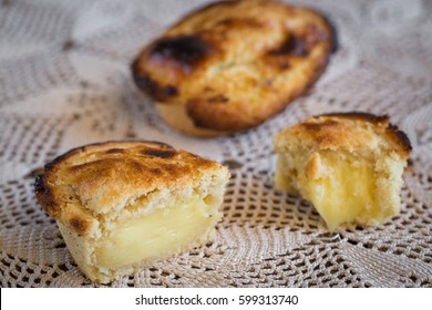 The delicious traditional Pasticciotto pastry from Lecce, Puglia, Italy