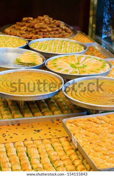 Delicious Turkish baklawa