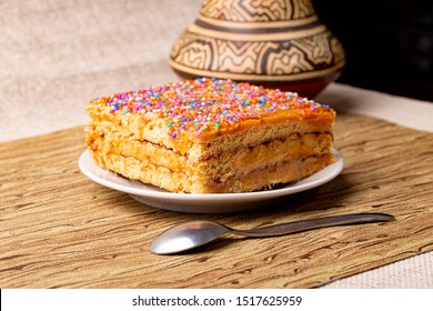 """Delicious Turron """"Doña Pepa"""" traditional dessert of Peru consumed in the purple month, October."""