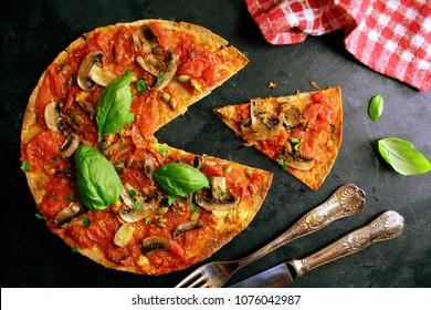 Delicious Vegan Pizza