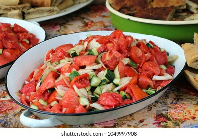 delicious vegetable salad
