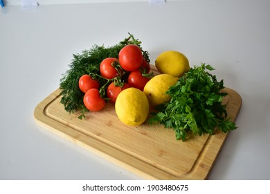 delicious vegetables on a white background