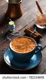 Delicious Winter Drink Sahlep, Salep
