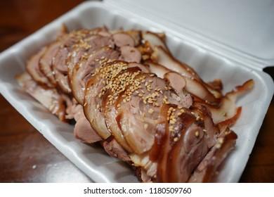 Delivered pig's Trotters, Jokbal, braised pork trotters