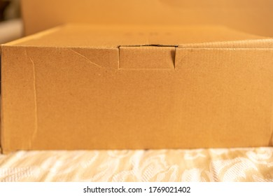Delivery box (package) received from online shopping