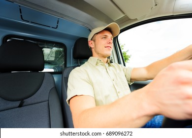 Delivery Boy Driving