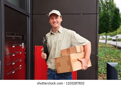 Delivery Boy At Your Door