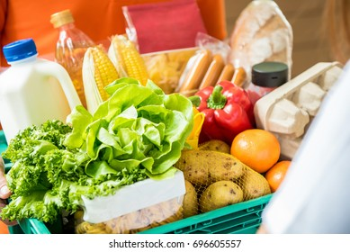 Supermarket Delivery Images, Stock Photos & Vectors