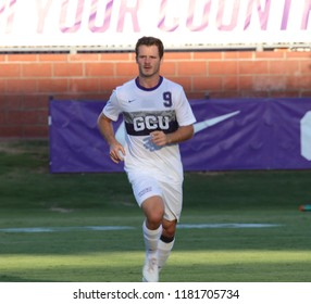 DELOR, JAIME forward for the Grand Canyon University Lopes at GCU Stadium in Phoenix Arizona USA September 15,2018.