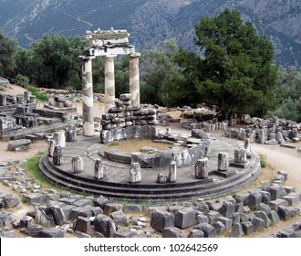 Delphi Temple Greece