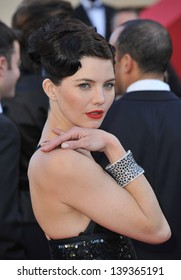 """Delphine Chaneac at the gala premiere of """"The Past"""" (Le Pass) in competition at the 66th Festival de Cannes. May 17, 2013  Cannes, France"""