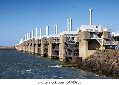 Zeeland´s delta project bridge