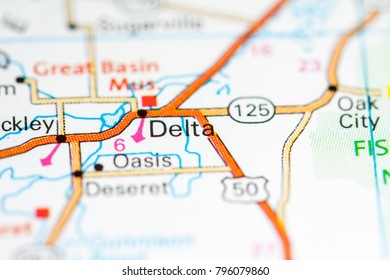 Delta Map Stock Photos Images Photography Shutterstock