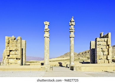 delubrum of Persepolis in Shiraz, Iran