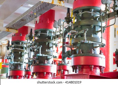 Deluge valve system of fire fighting system for emergency of fire case in oil and gas field