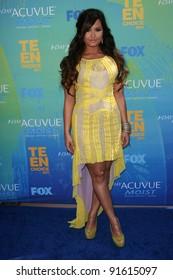 Demi Lovato at the 2011 Teen Choice Awards, Universal Amphitheater, Universal City, CA. 08-07-11